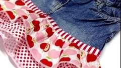 Новая юбка из старых джинсов: продлеваем жизнь любимой вещи