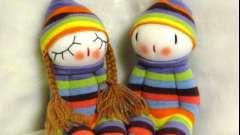 Новая жизнь старой вещи, или куклы своими руками из носков