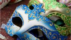 Новогодние маски своими руками