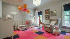Нужен ли ковер в детскую комнату? Интерьер детской комнаты