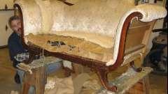 Обивка диванов, перетяжка мягкой мебели: инструкция по выполнению работ