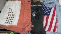 Обновляем гардероб - как сделать модные шорты из старых джинс