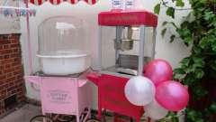 Оборудование для сахарной ваты и попкорна: отзывы