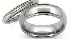 Обручальное кольцо из титана: описание