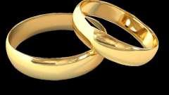 Обручальные кольца парные - свадебный переполох