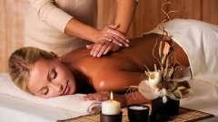 Общий массаж. Основные приемы
