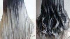 Окрашивание сложное. Техники окрашивания волос