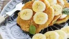 Оладьи из банана - вкусный и полезный завтрак