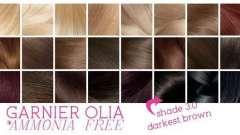 «Олия», краска для волос: палитра всевозможных цветов