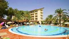 Описание отеля palm d or hotel 4. Турция