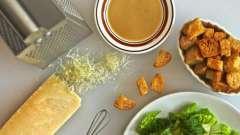 Определяем калорийность: салат «цезарь». Рецепты приготовления салата