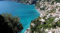 Основные курорты италии на море