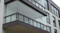 Остекление балкона: алюминий или пластик. Проект остекления балкона: фото