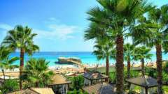 Отдых на средиземном море: курорт окурджалар, турция