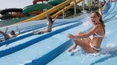 Открылся аквапарк в тюмени