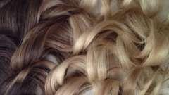 Оттенки русого цвета волос: французское мелирование