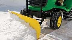 Отвал для уборки снега - особенности конструкций и разновидности