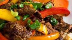 Овощи по-китайски. Рецепты вторых блюд