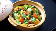 Овощи с грибами тушеные: рецепты приготовления в горшочках, мультиварке, рукаве