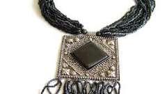 Ожерелье из бисера - превосходное украшение, созданное своими руками