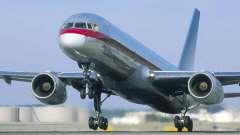 Пассажирский авиалайнер боинг 757-200