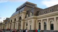 Павелецкий вокзал: схема вокзала, парковка, проезд