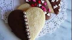 Печенье ко дню святого валентина. Рецепты