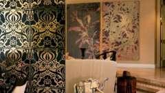 Перегородки в однокомнатной квартире оригинально зонируют помещение