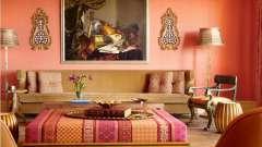 Персиковый цвет в интерьере - спокойная роскошь отделки