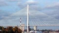 Первый вантовый мост спб – большой обуховский мост