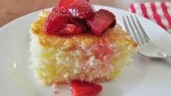 Пирог клубничный в мультиварке - вкусный и необычный десерт