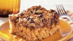 Пирог овсяный: рецепты приготовления для духовки и мультиварки