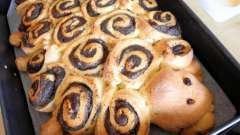 Пироги с маком из дрожжевого теста. Пошаговый рецепт с фото