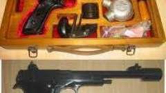 Пистолет марголина - описание, характеристика