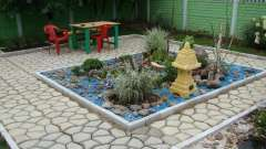 Пластиковая опалубка для садовой дорожки. Опалубка для садовых дорожек своими руками