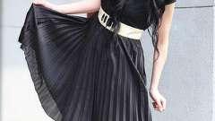 Платье плиссированное - женственное, легкое и воздушное!