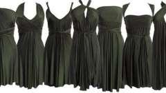 Платье-трансформер: как завязать? Как носить платье-трансформер?