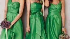 Платья для подружек невесты: какие они?