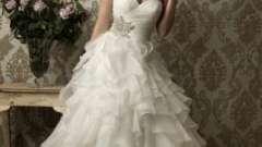 Платья из сказки: пышные свадебные платья