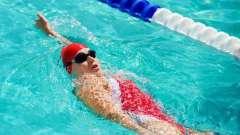 Плавание на спине: техника и виды