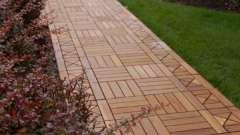 Плитка для садовых дорожек: как правильно ее укладывать