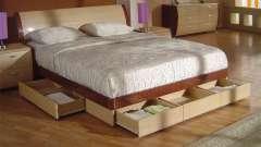 По каким критериям нужно выбирать кровать с выдвижными ящиками?