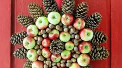 Поделки своими руками из яблок на рождество и новый год