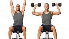 Подъемы гантелей через стороны - лучшее упражнение для дельтовидных мышц