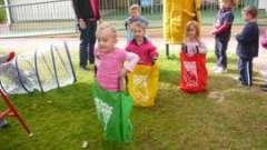 Подвижные и развивающие игры в детском саду