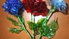 Поговорим о том, как сделать цветок из пластиковых бутылок