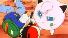 Покемон джигглипуф - маленькое розовое чудо с прекрасным голосом и маркером в руке