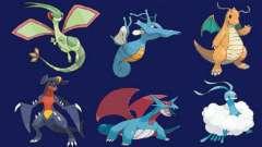 Покемоны-драконы: что это за тип монстров, каковы основные отличия, характеристика вида