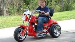 Покупаем детский мотоцикл