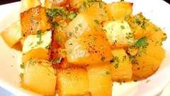 Полезное блюдо - печеная тыква. Рецепт приготовления